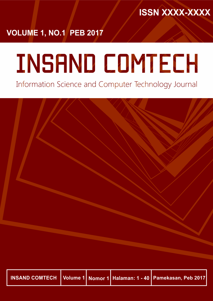 Insand Comtech : Information Science and Computer Technology Journal