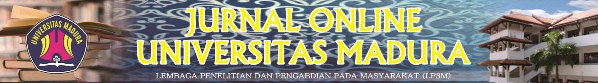 JURNAL ONLINE UNIVERSITAS MADURA